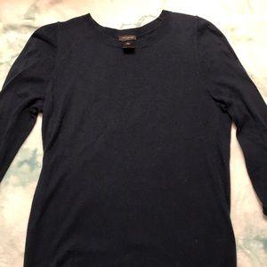 Navy Plain sweater (Ann Taylor)
